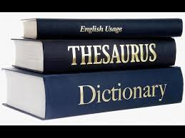 dictionary, for defining single