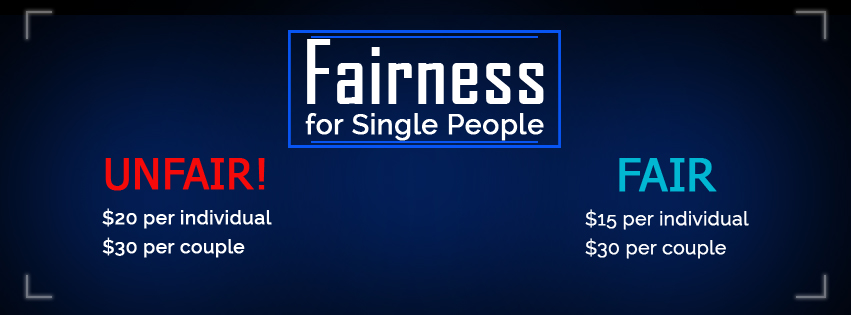 Fairness for Single People: New Initiative for Calling Out Unfair and Fair Practices